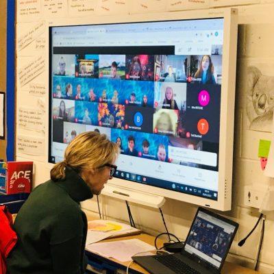 Whole class live Google Meet